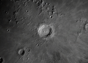 The lunar crater Copernicus