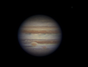 Jupiter & the Great Red Spot