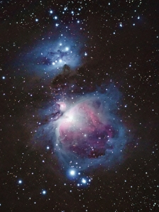 The Orion & Running Man Nebulae