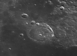 The lunar crater Posidonius