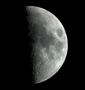 High-resolution lunar mosaic