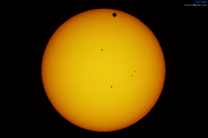 The 2012 transit of Venus