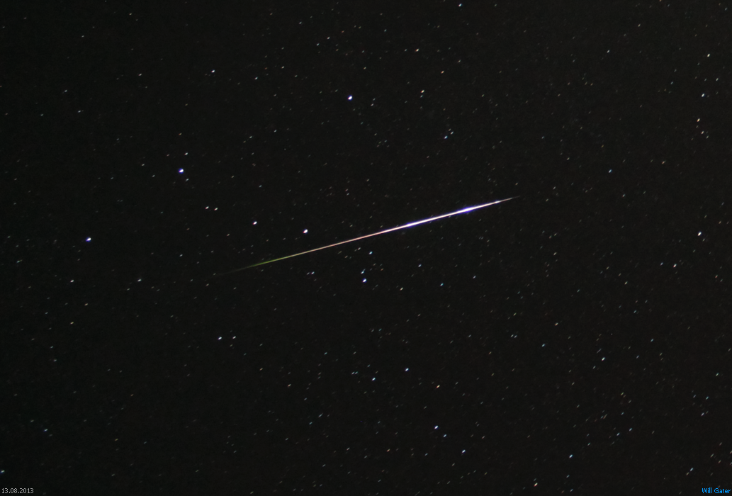 The Perseids Pack A Punch Thanks To Clear Skies Will Gater