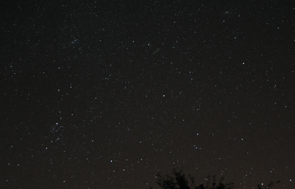 Sporadic meteor 13082013