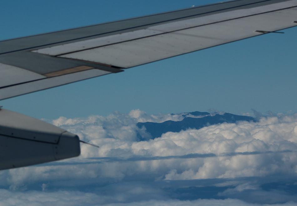 La Palma from plane