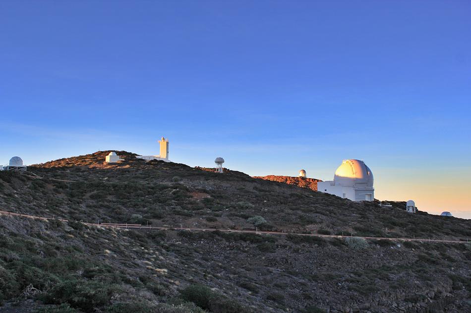 Morning sunrise of domes