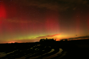 The Northern Lights from South Gloucestershire