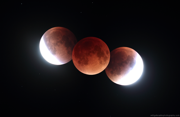 Umbral shadow montage eclipse 28092015